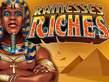 Играйте онлайн в Сокровища Рамзеса на доллары